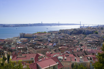 Cityview of Lisbon Portugal