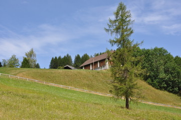Tipico paesaggio austriaco