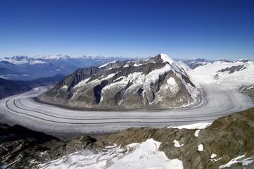Die schönsten Gletscher der Erde - Aletschgletscher