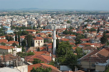 Panorama Of Xanthi City, Greece