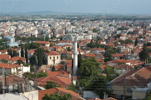 Panorama miasta Xanthi, Grecja