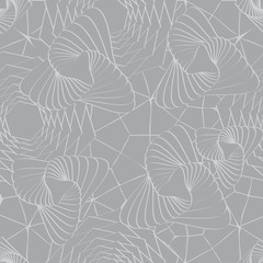 Seamless asymmetric pattern
