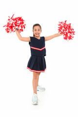 Adorable Cheerleader