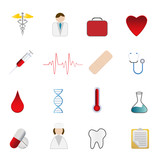 Medical health care symbols