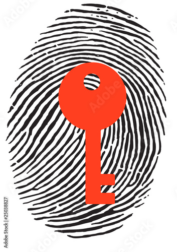 Finger Print with key
