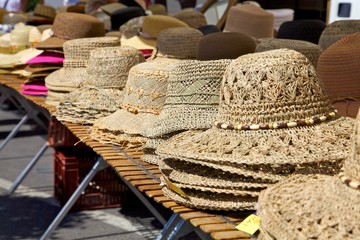 Hat Stand at Market