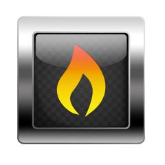 Metal Button Fire