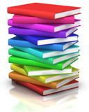 Fototapety stack of books