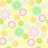 Fototapety abstract flowers background