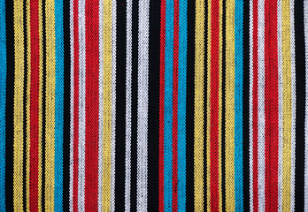 Coarse weave cotton fabric