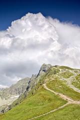 Beatiful mountain in Europe - Tatras. Poland.