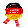 made in germany siegel, button, plakette