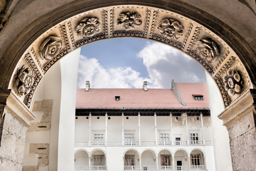 Wawel in Cracow on the World Heritage List.