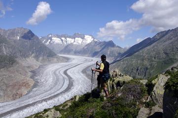 Wandergebiet  Wallis - Aletschregion