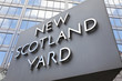 Iconic New Scotland Yard Police Station Sign London England - 25054040
