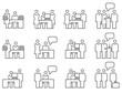 Icon Set Teamwork