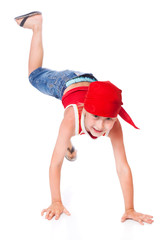 Little boy in dance