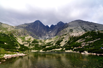 Bergsee Hohe Tatra Slowakai