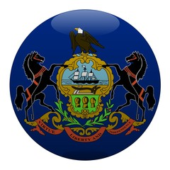 boule pennsylvanie pennsylvania ball drapeau flag