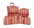 Luggage set with bags.
