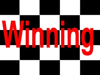 Winning Flagge