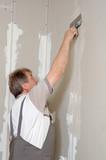 man putty plasterboard poster