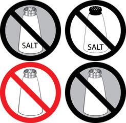 No Salt Sign