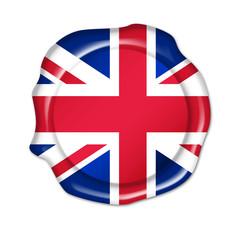 button united kingdom, uk, siegel, stempel