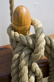 Rope on ship