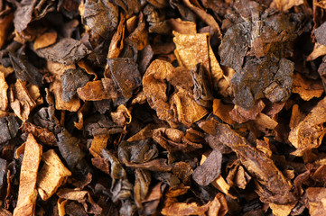 Tobacco as background