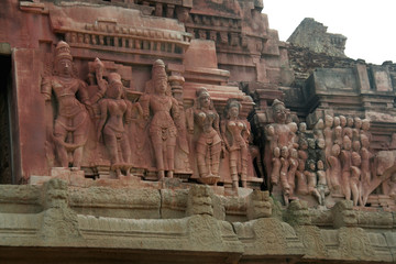 Sculptures on Outer Wall