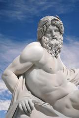 Roma, piazza Navona, fontana dei Quattro Fiumi (part.)