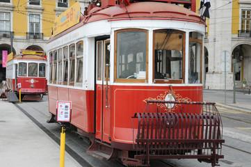 Portugal, tramway à Lisbonne