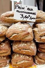 Freshly baked Wholegrain bread