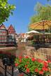 Der historische Stintmarkt in Lüneburg