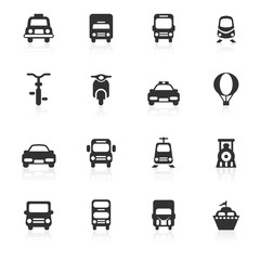 Transportations Icons - minimo series