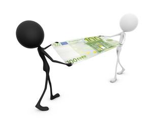 Mr. Emotion V52.1b Money Fight EURO blackwhite