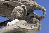 Detail of monument Frederic Chopin. Warsaw, Poland. - 25076834