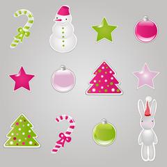 Christmas Symbols And Elements