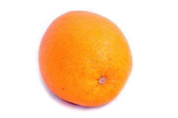 Апельсин изолированный на белом фоне