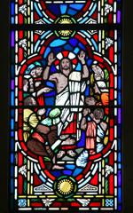 The Risen Christ Stained Glass