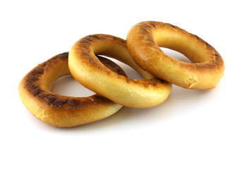 Three baranka (bread-ring).
