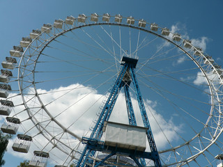 Ferris wheel at day