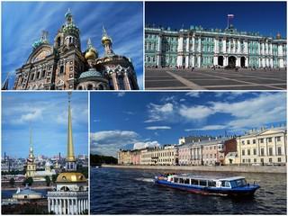 La ville de Saint Pétersbourg