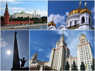 Une promenade à Moscou