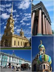 Monuments de Saint Petersbourg