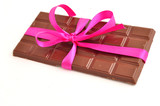Chocolate bar a gift