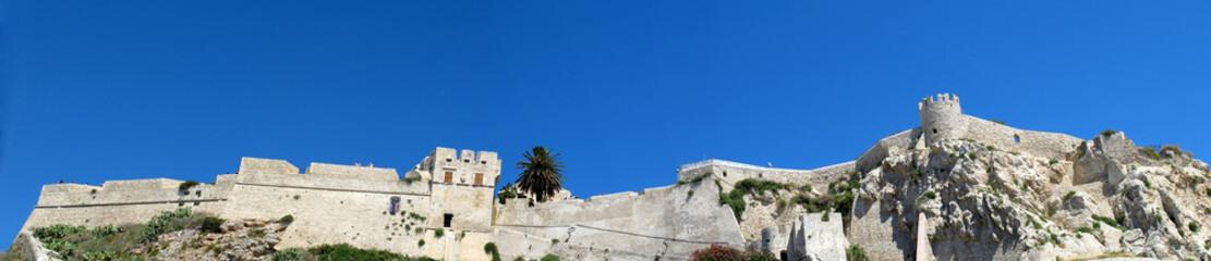 Fortress of the Abbey of San Nicola Island (Tremiti, Italy)