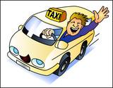 Fototapety Taxifahrer