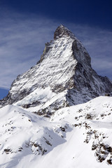 Matterhorn view from the mountains